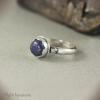 Кольцо Синий цветок